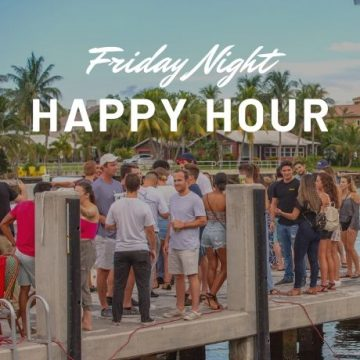 Famous Two Georges Cove Friday Happy Hour