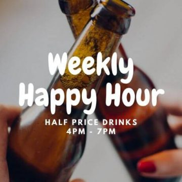 Happy Hour at Two Georges The Cove
